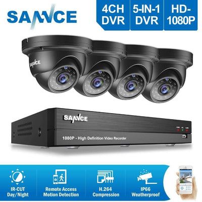 Sannce N44Su Nvr Security System Manually - Querciacb