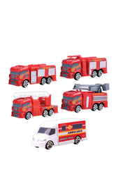 Hm Set De 5 Vehiculos De Emergencia - Hamleys