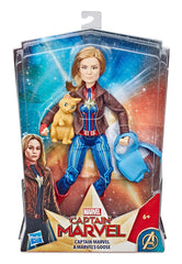 Cml Captain Marvel And Marvels Goose - Marvel