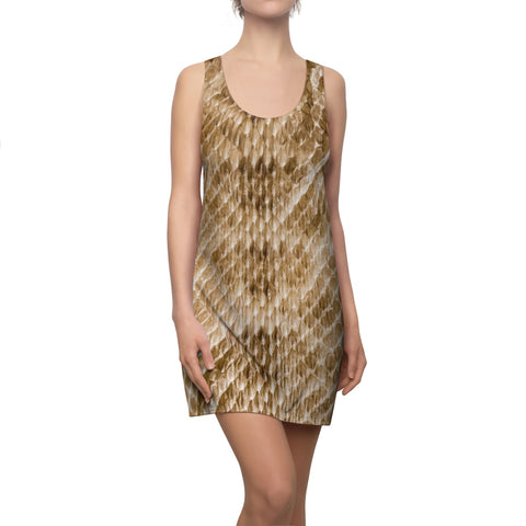 Snakeskin print tank dress main image