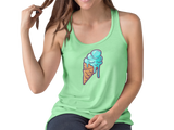 Ice Cream Cone Summer Fun Tank Top Main Image