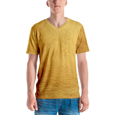 Gold Men's T-shirt Main Image