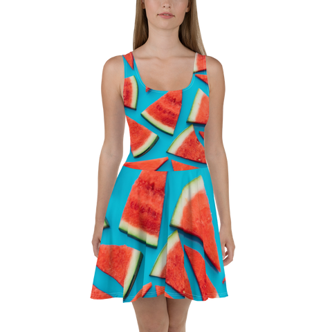 Watermelon Skater Dress