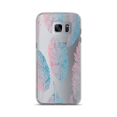 Feathers Samsung Case Main Image