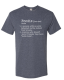 Funny Foodie Definition T-Shirt Heather Navy