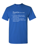 Funny Foodie Definition T-Shirt Blue