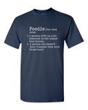 Funny Foodie Definition T-Shirt Navy