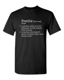 Funny Foodie Definition T-Shirt Black