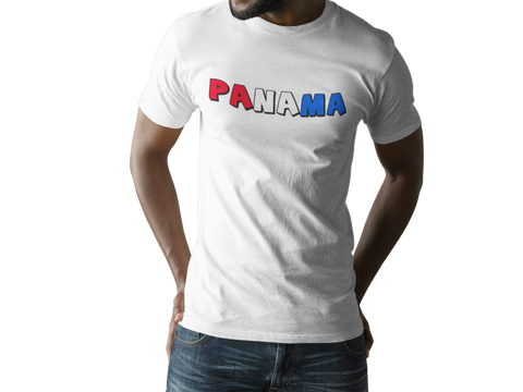Panama Red White Blue T-Shirt
