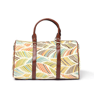 Feather Pattern Travel Bags