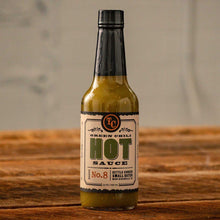 Load image into Gallery viewer, TC Green Chili Hot Sauce