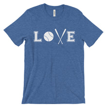 Load image into Gallery viewer, Love - Baseball, Softball, T-ball Fan T-Shirt