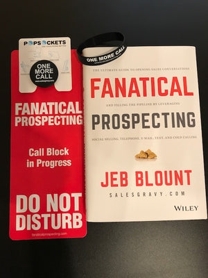 Fanatical Prospecting Autographed Book and Gear Bundle