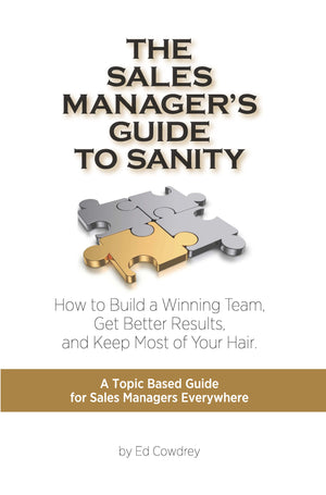 The Sales Manager's Guide to Sanity │ E-Book