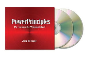 Power Principles | Audiobook (MP3) | Jeb Blount