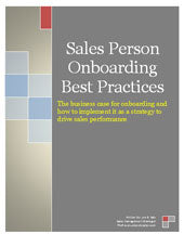 New Sales Hire Onboarding Guide | E-Guide