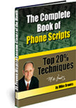 The Complete Book of Phone Scripts | E-Book | Mike Brooks