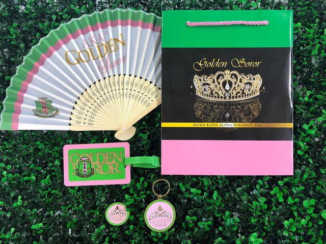 AKA Golden Soror Gift Set