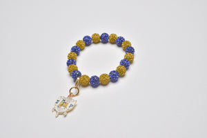 Bling Bracelet with SGR Shield Charm
