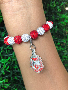 DST Bling Bracelet with Shield