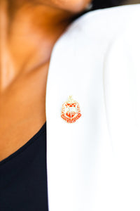 Delta Sigma Theta Shield Lapel Pin