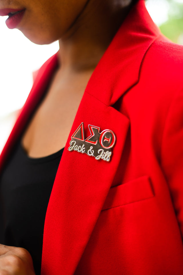 Delta Sigma Theta and Jack and Jill of America, Inc. Lapel Pin