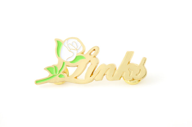 Gold Links, Inc. Script Lapel Pin