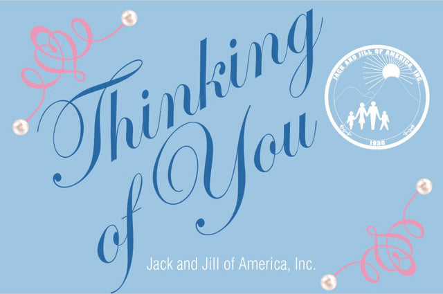 Jack and Jill of America, Inc. Thinking of You Notecards