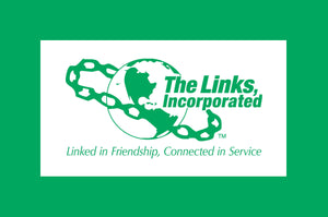 Links, Inc. Logo Notecards