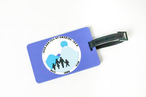 Jack and Jill of America, Inc. Blue Luggage Tag