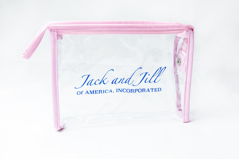 Jack and Jill of America, Inc Clear Cosmetic Bag