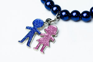 Jack and Jill Boy & Girl Charm
