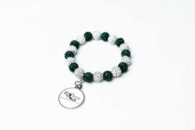 Links Bling Bracelet with Charm