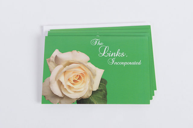 White Rose Notecards