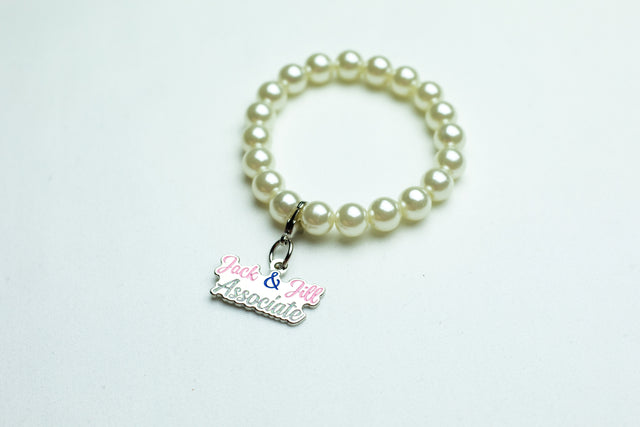 Jack and Jill Pearl Bracelet with Associate Charm