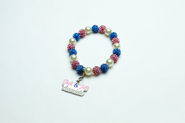 Jack and Jill Bling with Pearl Associate Bracelet