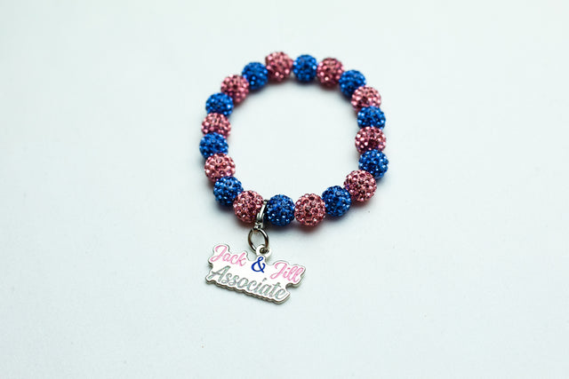Jack and Jill Bling Bracelet with Assoicate Charm