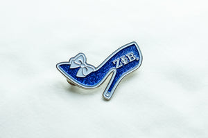 Zeta Phi Beta Shoe Lapel Pin