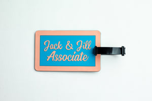 Jack and Jill Associate Luggage Tag