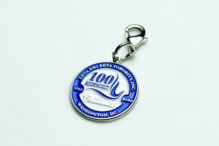 Zeta Phi Beta 100th Year Charm