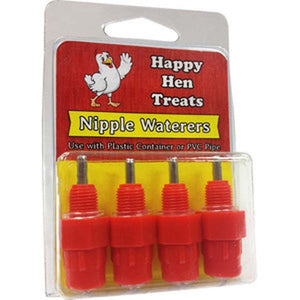 Happy Hen Nipple Waterers 4pk