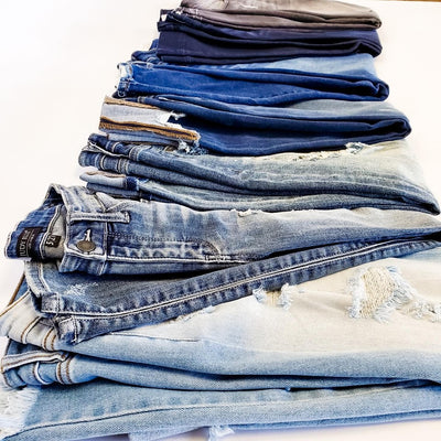 Don't forget the denim!