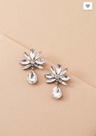 At Last Petal Drop Earrings
