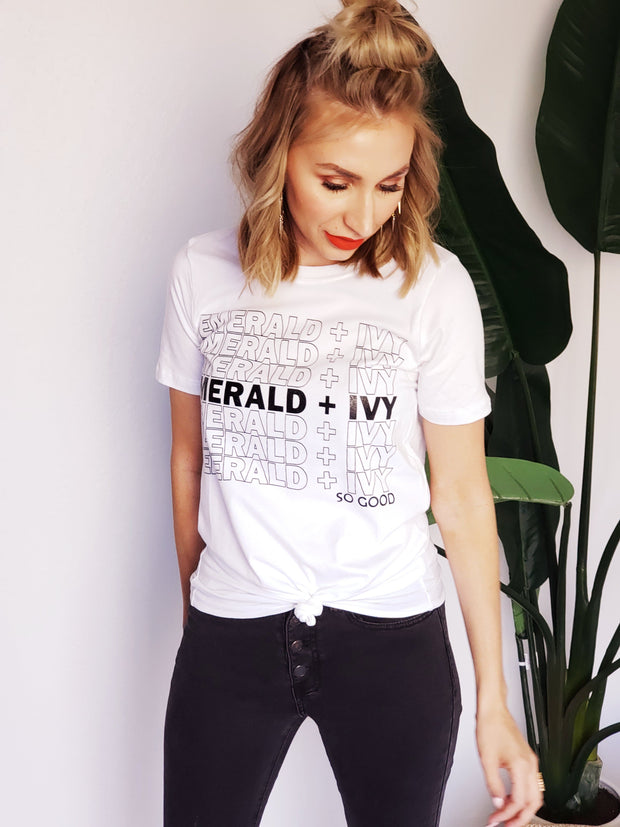 Emerald and Ivy - SO GOOD - Graphic Tee