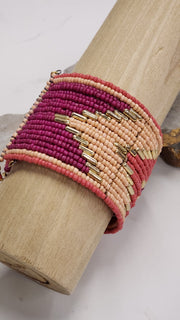 Multi Layer Cuff Bangle
