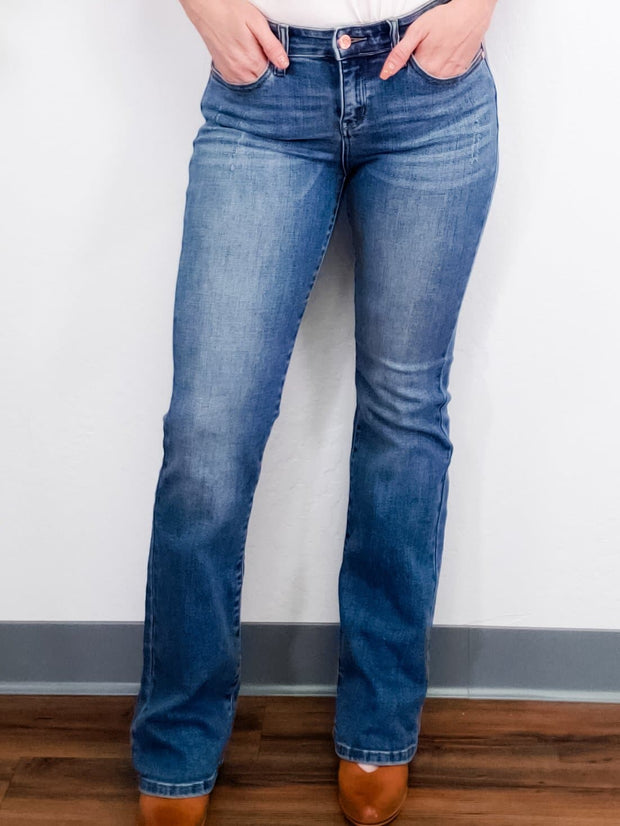 Judy Blue - Mid Rise Bootcut Jeans (0-24W)