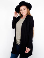 Long Sleeve Cardigan with Front Pockets