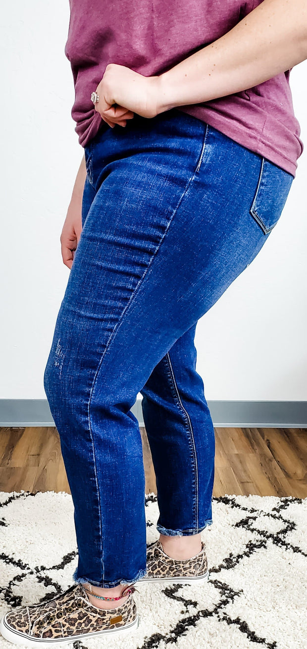 Judy Blue - The Stepford Mom Jeans - High Waist (0-24W)