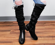Optic Tall Boots - Adjustable
