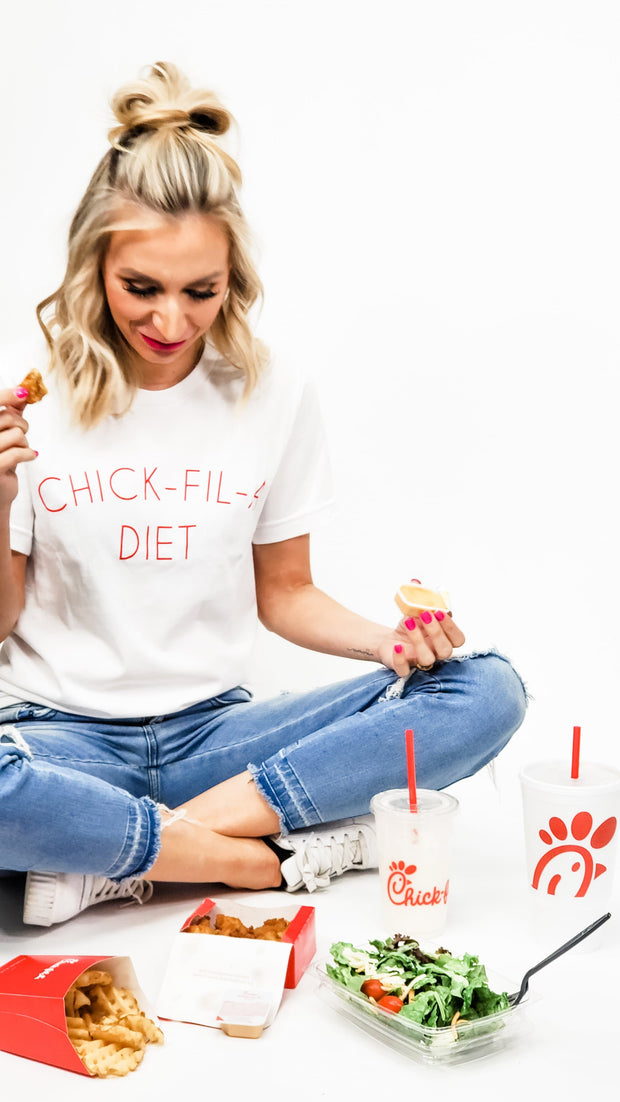 Chick-Fil-A-Diet Graphic Tee